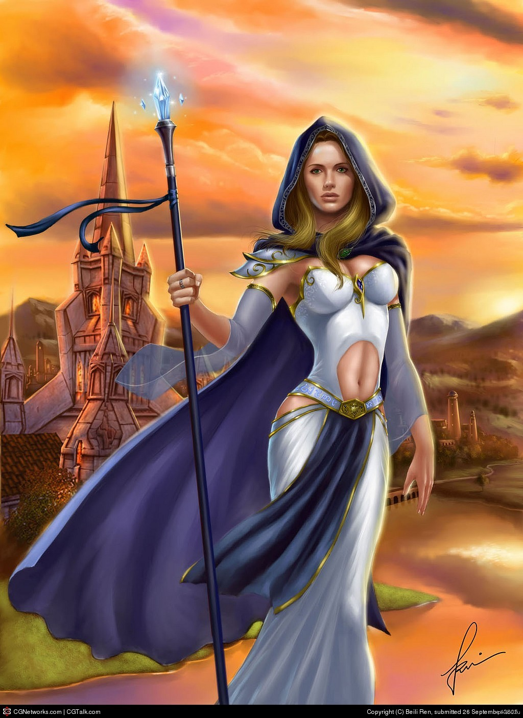 Jaina proudmoore the young sorceress in warcraft  xxx gallery