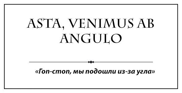 Задница на латыни