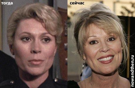 актриса с сиськами из полицейский академии