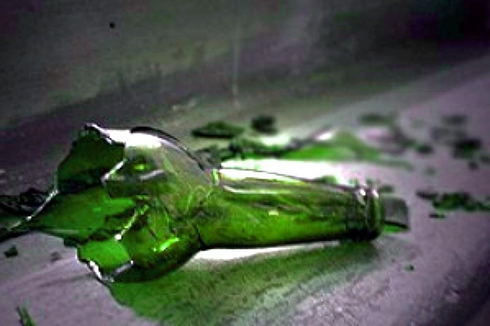 розочка от бутылки фото