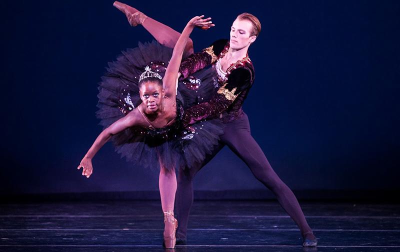 Балерины негритянки