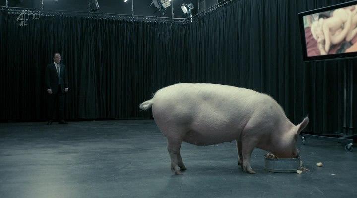 Фильм премьер министр трахает свинью