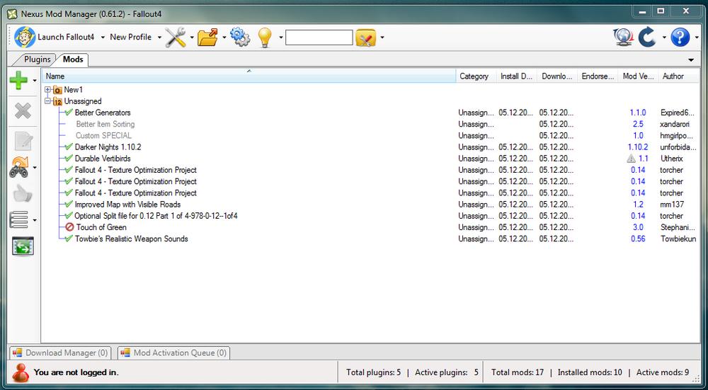 Fallout 4 файл с настройками управления