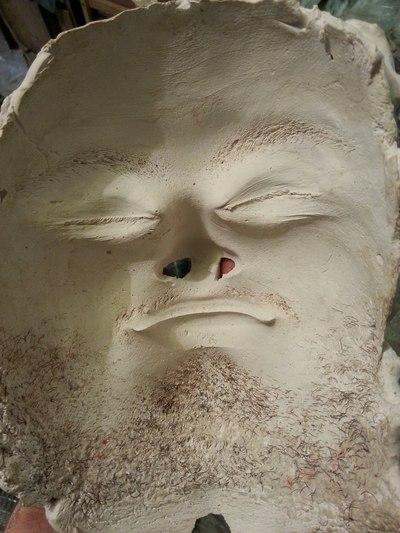 Силиконовое лицо (силиконовый слепок) своими руками Арт-студия Натальи 88