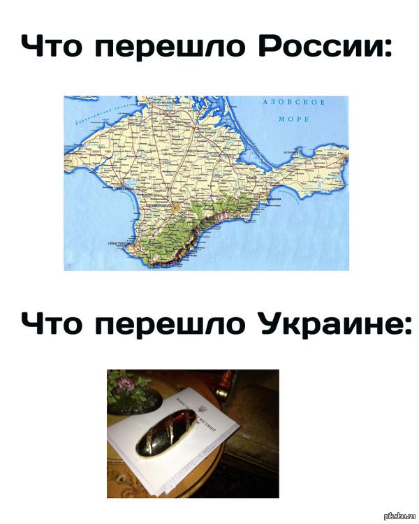 В свете последних событий Украина тоже не осталась ни с чем