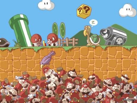 Куда деваются Марио после смерти (с)9gag
