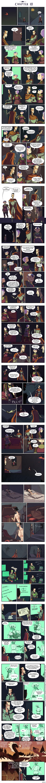Нимона глава 10 (часть 1) 10 глава, 1 часть (напомню что комикс до сих пор рисуется), последнее что есть на данный момент. Продолжение и cсылки на предыдущие главы в комментариях.