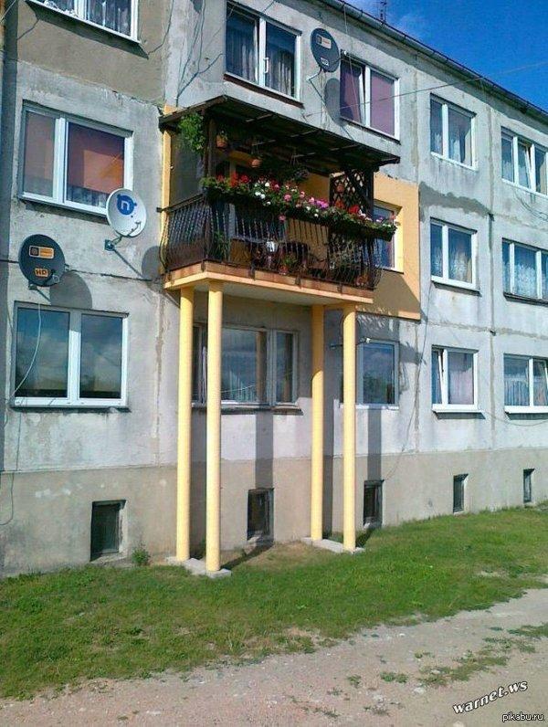 Нет балкона? Не проблема.