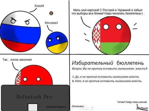 Выборы и Беларусь Баянометр загарает