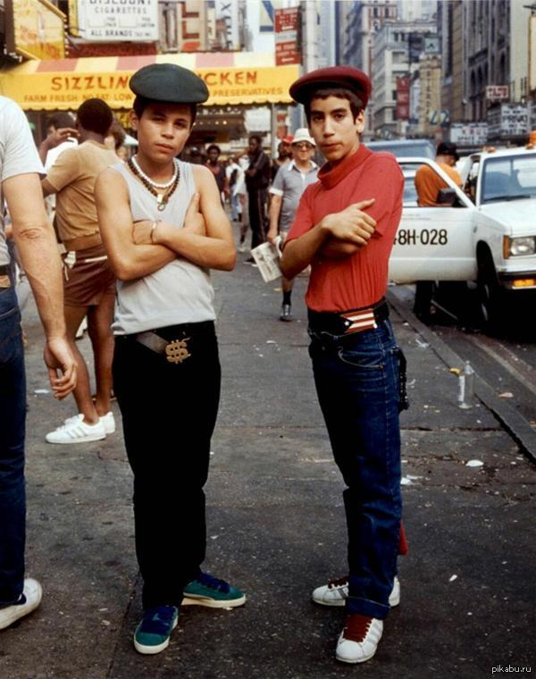 80-е... Хип-хоп... стиль... =)