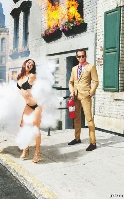Секс с огнетушителем
