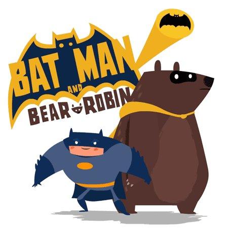 Batman & Bear Robin Кастинг на роль подручного прошел не очень удачно, как по мне.