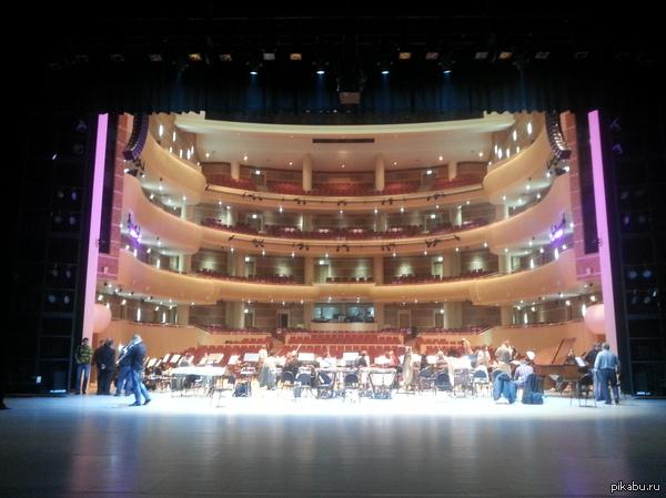 Владивостокский Театр Оперы и Балета из-за кулис