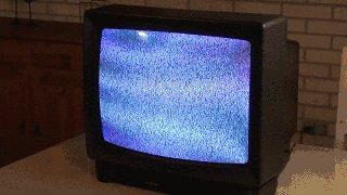 Гигантский магнит и старый телевизор