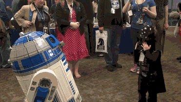 """""""Я не хотела напугать вас, R2D2"""""""