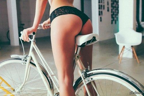 Попа и велосипед