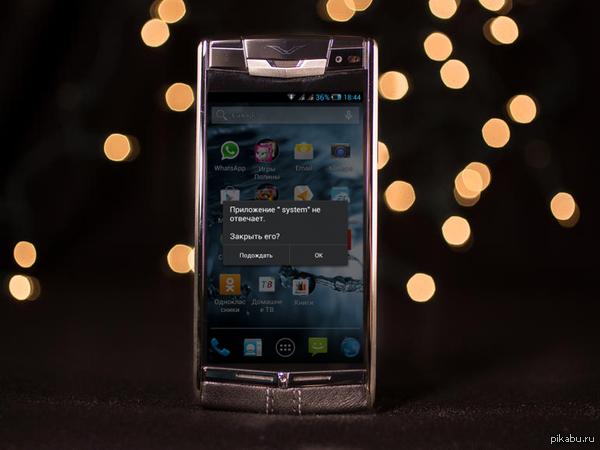 Компания Vertu продемонстрировала свой самый мощный Android-смартфон Signature Touch стоимостью от 8 300 евро
