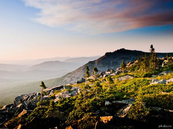 Красота Южного Урала - 4 Гора Иремель, Белорецкий район Башкортостана, высота 1582,3 м
