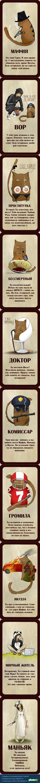 Карты для игры в мафию. Нашел и выложил специально для любителей мафии.