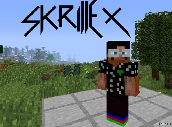 Skrillex in Minecraft !? WOW http://www.youtube.com/watch?v=1kGzhBHMbl0
