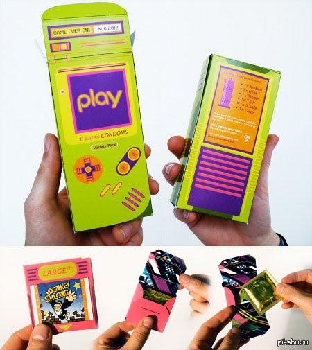 Nintendo Gameboy Condoms! Открой в себе геймера и забей пару очков своей даме.