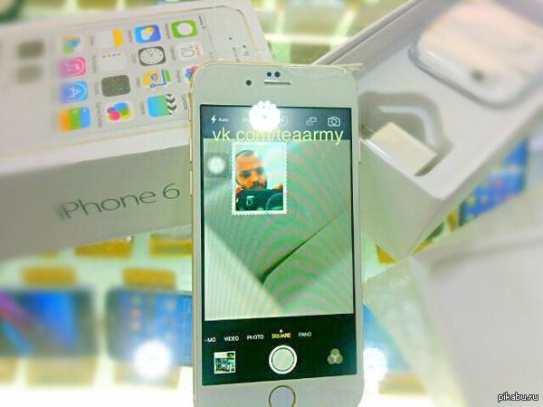 Купил IPHONE 6 сегодня на китайском рынке. Я все правильно сделал?