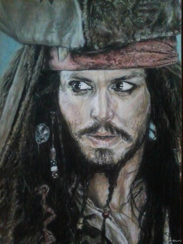 Моя версия Джека Воробья:) Капитана Джека Воробья!