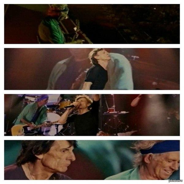 """""""The Rolling Stones"""". Концерт в Гайд-парке"""". Сейчас на 1 канале идет их концерт. Я смотрю и с ума схожу от их крутости! Скринил с телека, поэтому за качество простите."""