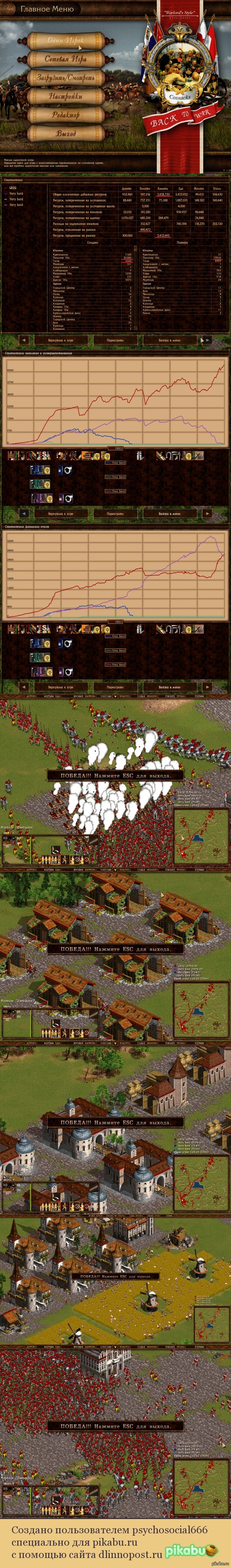 Кто еще помнит Казаков?! Или как победить компов, потеряв 18 тысяч пикинеров.