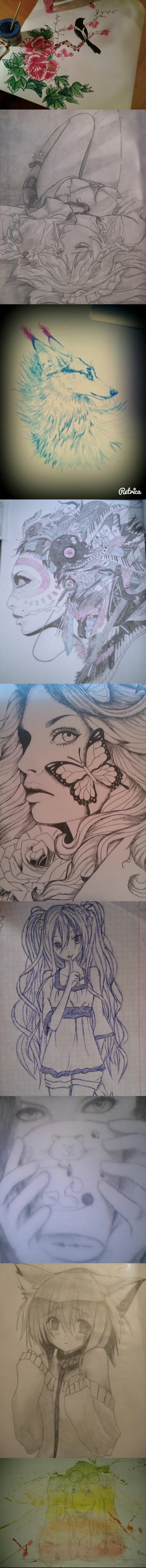 A few drawings
