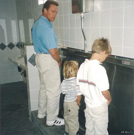 i'll pee back! Арни поздравил своего сына с др в инстаграме.