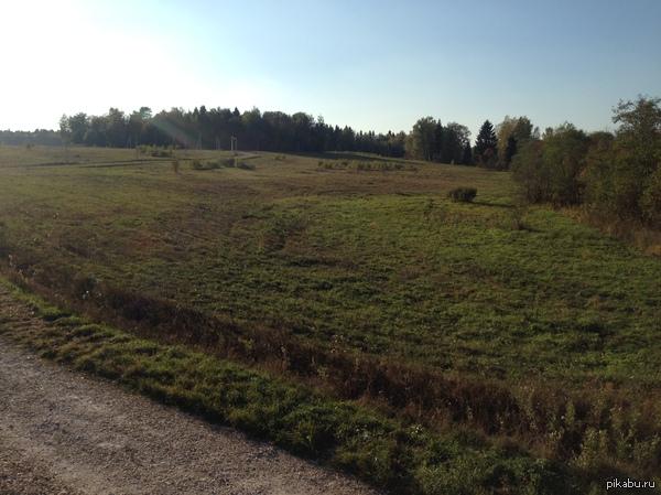 Моя работа. Заднимаюсь продажей земельных участков, целые дни на природе в тишине и уюте. Не особо оригинально, но это моя первая работа, не судите строго))