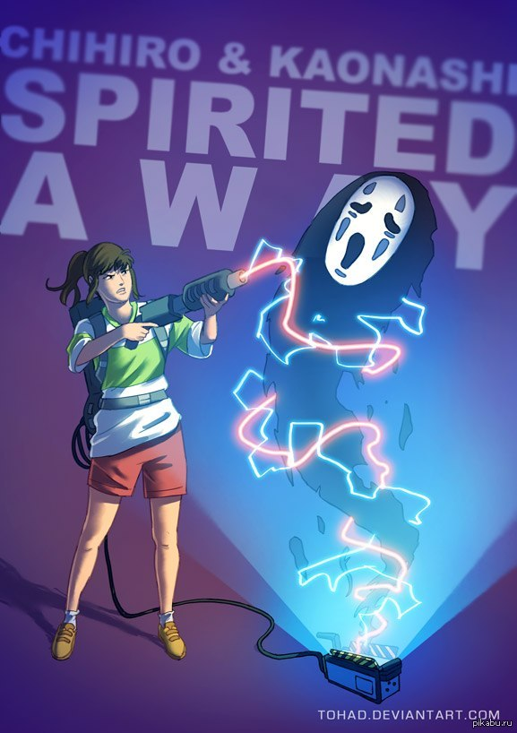 Унесенные призраками от художника Tohad