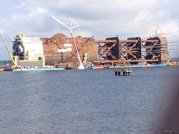 Лига детективов help Что везет это судно? Фото сделано 30 минут назад в Финляндии.