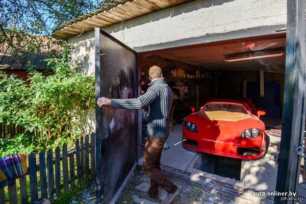 Парень из Солигорска (РБ) собрал в своём гараже McLaren .   Пруф в комментариях Я в шоке