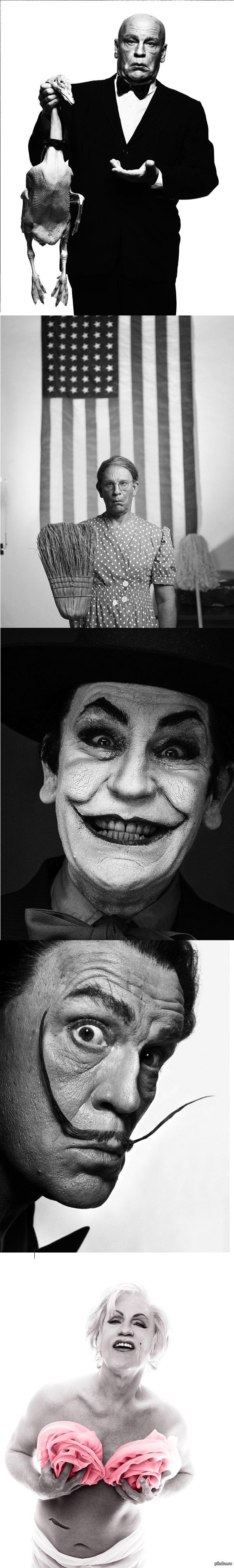 Малкович, Малкович, Малкович Переснятые шедевры от фотографа Сандро Миллера. В главной роли восхитительный и неповторимый Джон Малкович.
