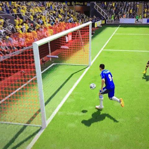 Ну очень реалистичная FIFA15 Кто знает кто такой Фернандо Торрес те поймут