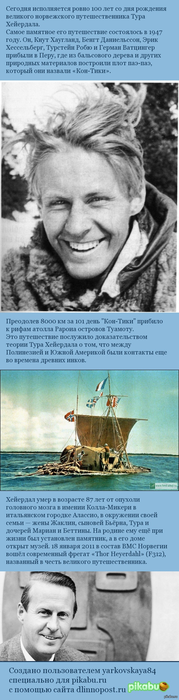100-летие Тура Хейердала