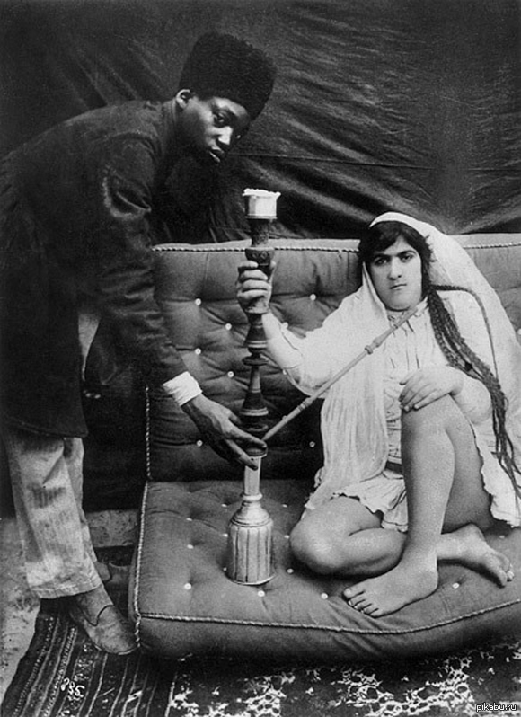 Проститутка и Раб - Иран 1900 в объективе Антона Севрюгина