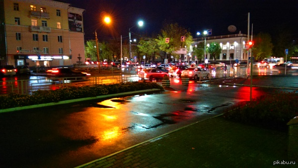 Барнаул после дождя