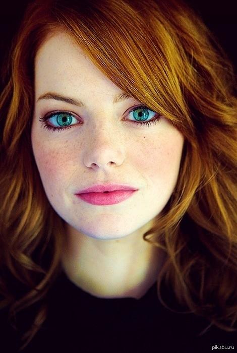 В этих глазах можно утонуть.