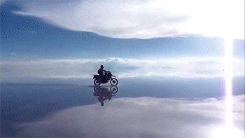 Мотоциклист в Раю Видео присутствует в комментах