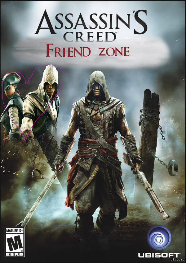 Assassin's creed Friend zone Да, я бог фотошопа...