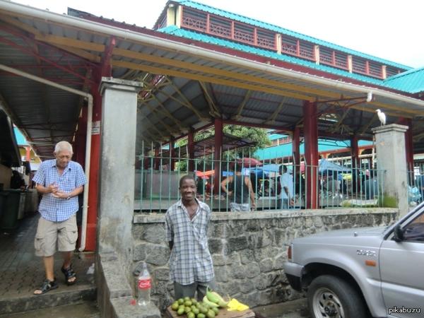 Позитивный привет из столицы Сейшел, Маэ Остров и город Маэ, столица Сейшельских островов.