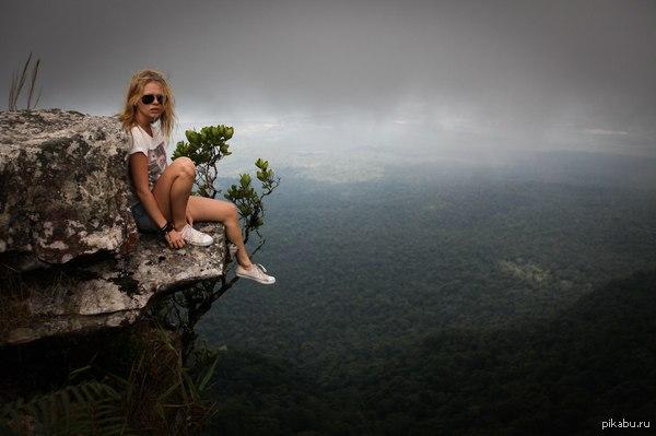 Над морем зелени... Красоты Камбоджи.