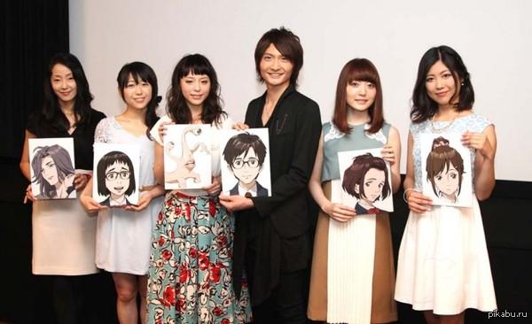 Сейю (актёры озвучки аниме) и их герои Японцы такие японцы