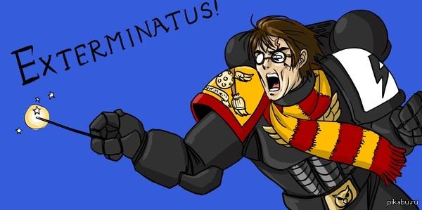 Exterminatus Поттер превозмогает