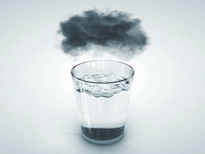 Буря в стакане. Автор: dekuk