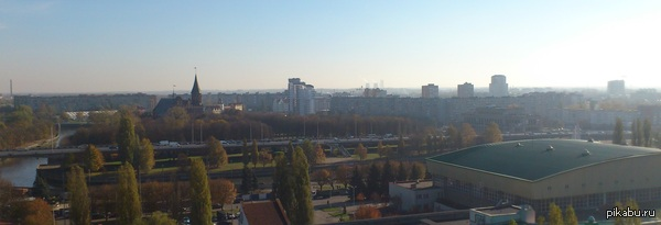 Вид с балкона моего офиса