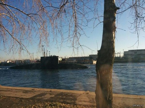 Вау, подводная лодка! 29 октября 2014 г., Санкт-Петербург, Канонерский остров